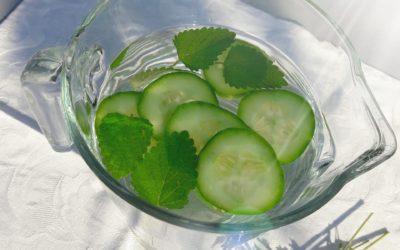 Warum Gurkenwasser fit macht