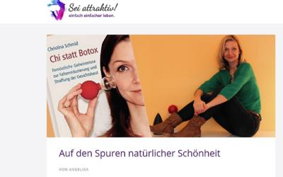 """Wie """"Chi statt Botox"""" zustande kam – ein Interview mit Seiattraktiv.de"""